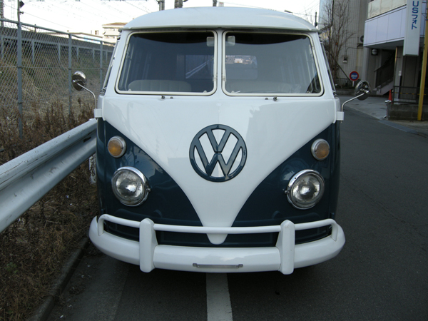 '66TYPE-2 CAMPER 正面