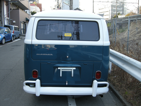 '66TYPE-2 CAMPER 真後